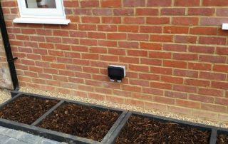 External Plug Sockets in Garden NP Electrics Tring