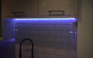 NP Electrics Tring colour changing under cabinet lights