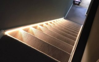 Electricians Tring and Berkhamsted Illuminated stairs